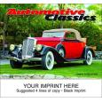 """Automotive Classics"" Full Color Calendars"