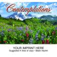 """Contemplations"" Full Color Calendars"