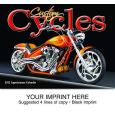 """Custom Cycles"" Full Color Calendars"