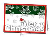 Merry Christmas Personalized Greeting Card