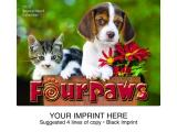"""Four Paws"" Full Color Calendars"