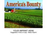 """America's Bounty"" Full Color Calendars"