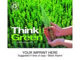 """Think Green"" Full Color Calendars"