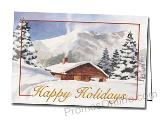 Winter Comfort Custom Personalised Greeting Card