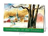 Holiday Welcome Promotional Greeting Card