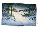 Northern Retreat Personalized Greeting Card