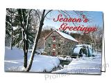 Old Mill Holiday Promotional Greeting Card