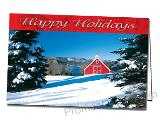 Picture Perfect Holiday Custom Printed Greeting Card