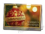 Season's Delight Promotional Custom Greeting Card