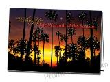 Warmth of the Season Personalized Greeting Card