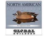 """North American Wildlife"" Cheap Promotional Calendars"
