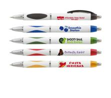 Custom Logo Promotional Personalized Denya Rubber Clip Pen