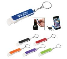 Bottle Opener/Phone Stand Key Chain