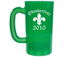 - 14 oz Personalized Plastic Beer Mug Cups -