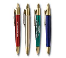 Custom Logo Promotional Personalized Bullet Click Pen