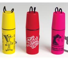Floating Promotional Logo Round Container Tube