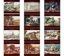 "Promotional ""Currier & Ives"" Wall Calendars"