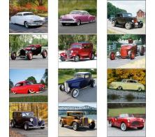 "Promotional ""Street Rods"" Wall Calendars"