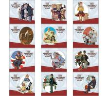 "- Promotional ""The Saturday Evening Post "" Mini Wall Calendars"