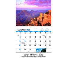 """Scenic America"" Full Color Calendars"
