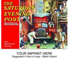 "- ""Norman Rockwell Saturday Evening Post"" Full Color Calendars"