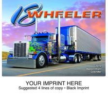 """18-Wheeler"" Full Color Calendars"