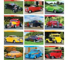 """Street Rod Fever"" Full Color Calendars"