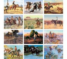 """Art of the West"" Full Color Calendars"