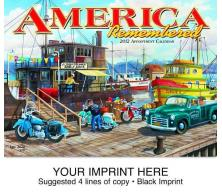 """America Remembered"" Full Color Calendars"