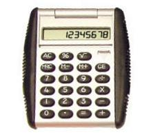 Auto Flip Top Promotional Printed Calculator