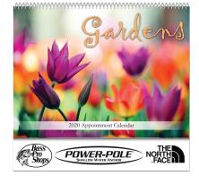 """Gardens"" Cheap Promotional Calendars"