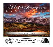 "- ""North American Landscapes"" Cheap Promotional Calendars"