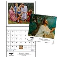 "Promotional ""God's Gift"" Wall Calendars"