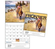 "Promotional ""Western Frontier"" Wall Calendars"