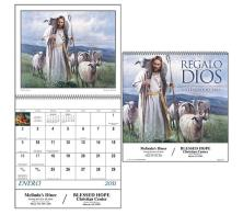 "Promotional ""God's Gift Spanish"" Wall Calendars"