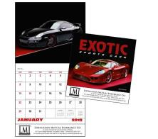 "Promotional ""Exotic Sports Cars"" Wall Calendars"