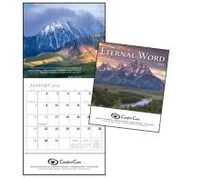 "Promotional ""Eternal Word"" Mini Wall Calendars"