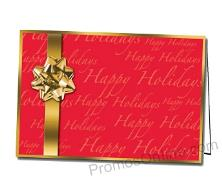 Holiday Cheer Customized Greeting Card