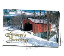 The Red Bridge Customized Greeting Card