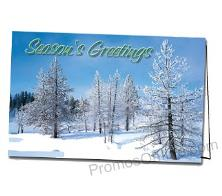 Winter Greetings Logo Greeting Card